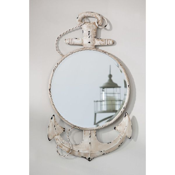 Anchor Wall Mirror Decoration In Out Pinterest Walls