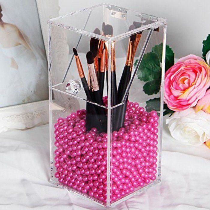 17 meilleures id es propos de stockage de maquillage en - Rangement maquillage acrylique pas cher ...
