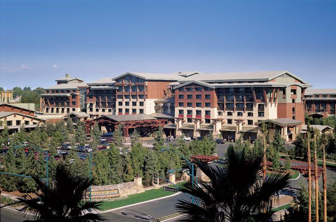Disney's Grand California Resort- Stay inside the magic at Disney's Grand Californian Hotel® & Spa nestled within Disney California Adventure® Park. This luxury hotel celebrates the majestic beauty of California and the craftsman era with amazing attention to detail. Disney's Grand Californian Hotel & Spa is a 1019 room luxury hotel featuring special amenities and exclusive Disney experiences to make your stay even more magical.