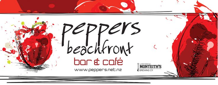 Peppers beachfront bar and cafe gisborne great food and views.  www.peppers.net.nz