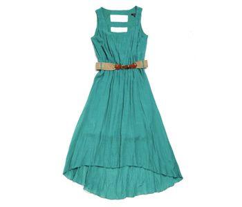 HI-LOW DRESS Item code:6343554 Price:R 450.00 Colour:green