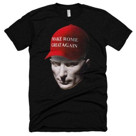 Make Rome Great Again Short sleeve soft t-shirt Julius Caesar