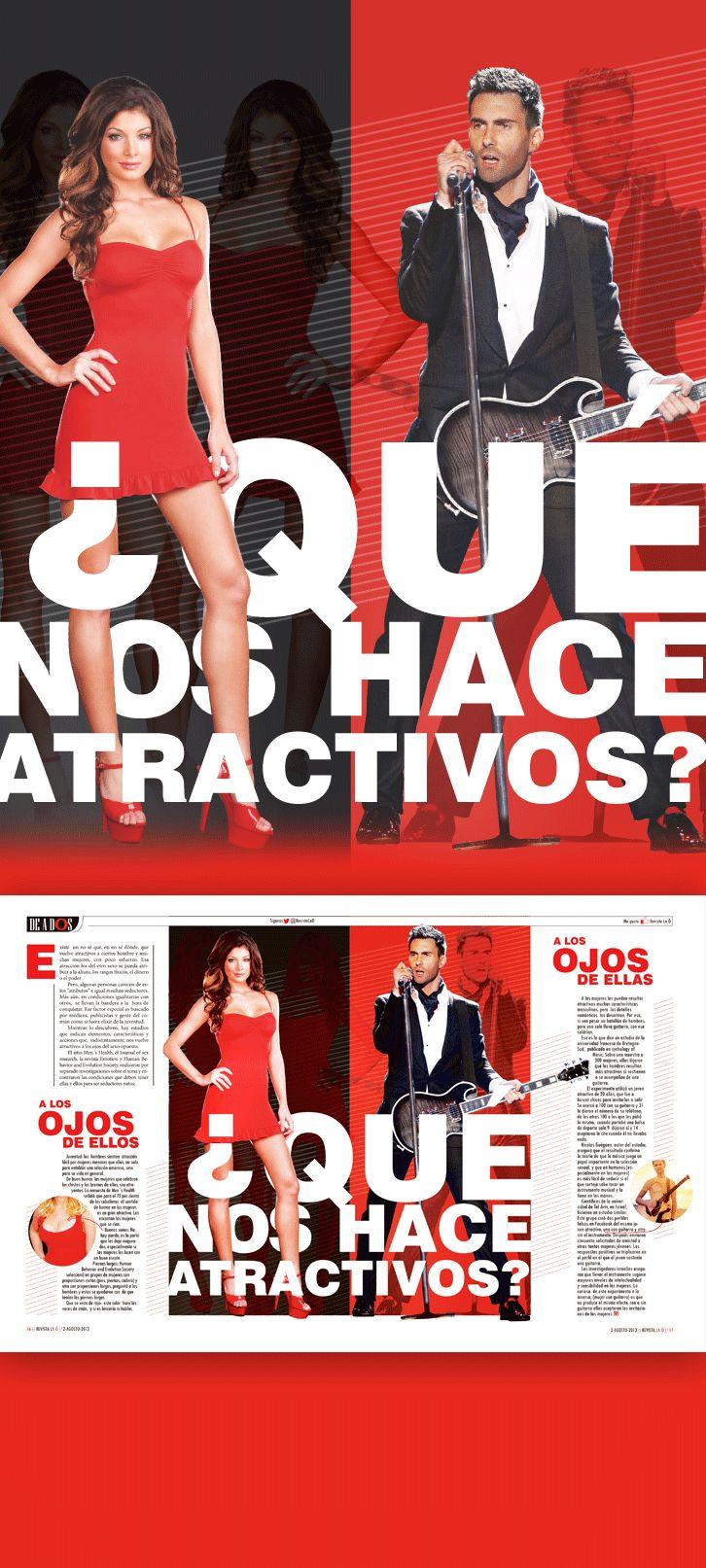 Diseño editorial // Revista: La Ó // Sección: En Pareja // Instragram: carmarcusdesign  #editorialdesign #diseñoeditorial #magazine #revista #atractivo