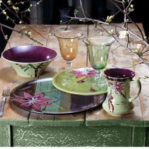Tracy Porter Lotus Dinnerware