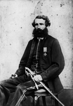 Charles Heaphy, VC. A famous artist who painted works of the early colonial era in New Zealand, Heaphy surveyed roads for the military during the invasion of Waikato. On February 11,1864, while commanding a force of the Auckland militia, Heaphy rescued a wounded soldier under fire, receiving three wounds in the process. He was awarded the Victoria Cross, the first colonial soldier and commander of irregular forces to receive the award.
