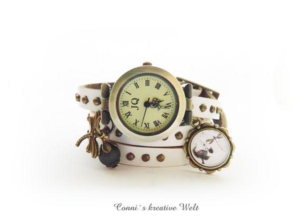 Wickel-Armband-Uhr