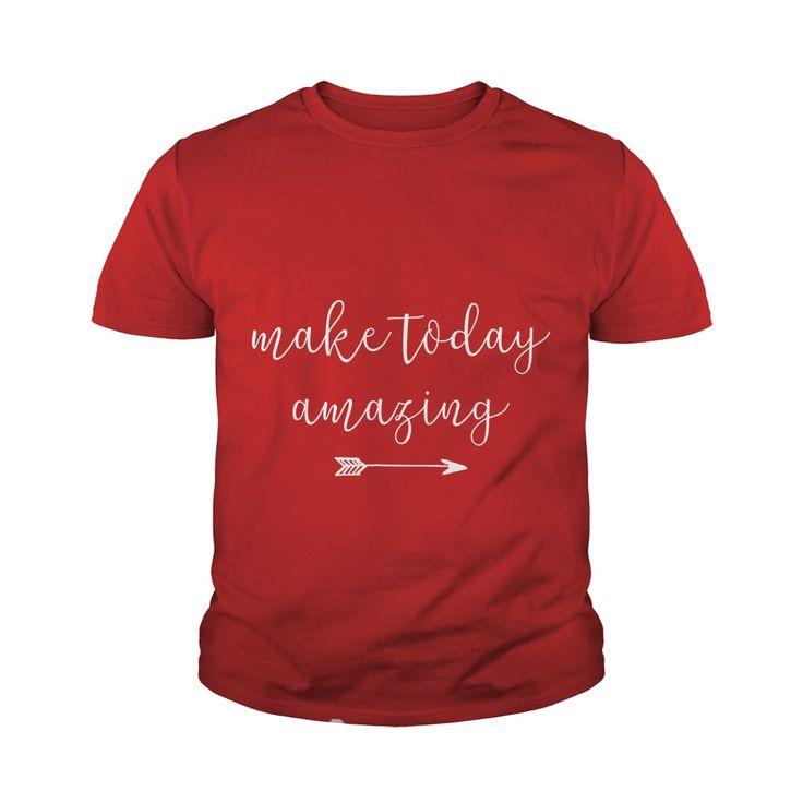 Make Today Amazing Funny Youth Tee - https://www.sunfrog.com/121936763-637337050.html?68704