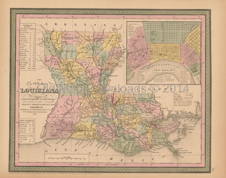 10 best Louisiana Old Maps images on Pinterest Antique maps, Old - new best world map download