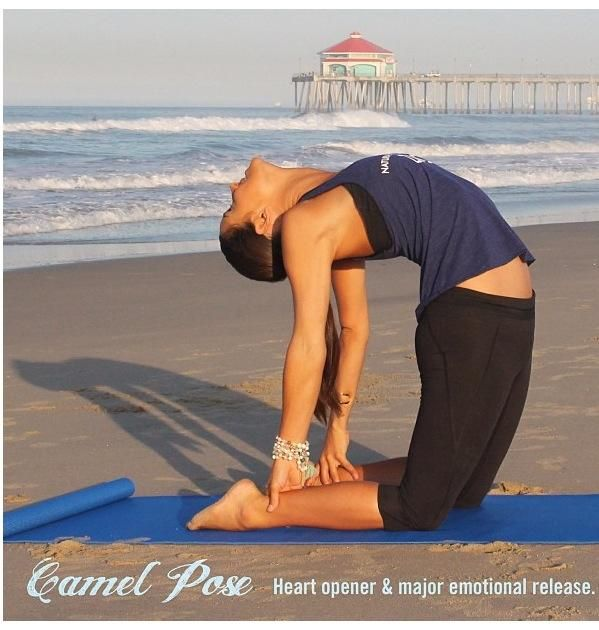 Lacey Calvert::Yoga Pose of the Day!