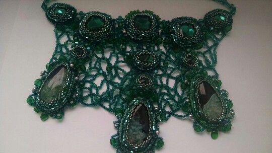Зеленое ожерелье.