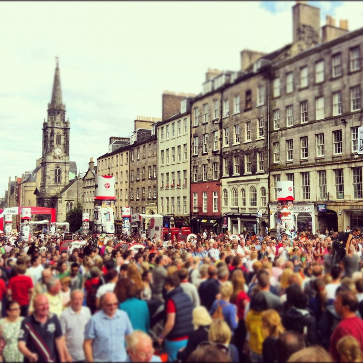 The Royal Mile, Edinburgh Fringe Festival