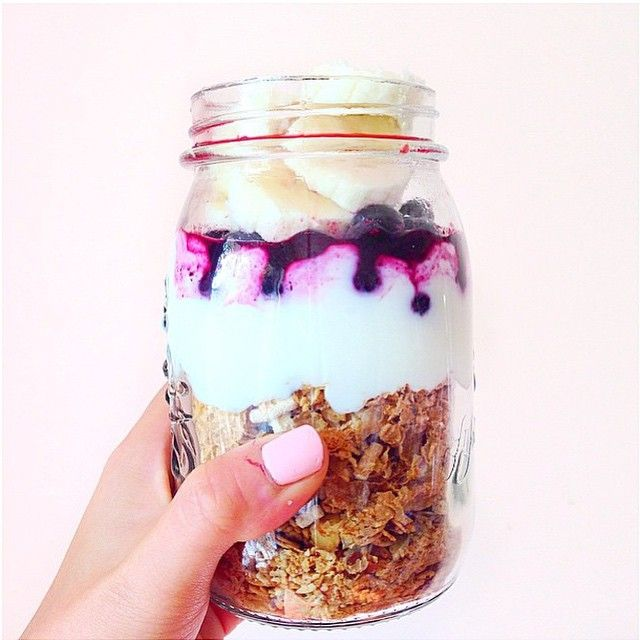 Breakfast muesli inspiration by the lovely @jocelyn.shan, layered with our #AlmondNutCrunch!#freshnessfinefoods