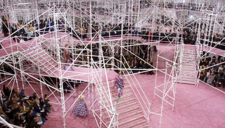 Resultado de imagen de dior couture 2015 ARCHITECTURE