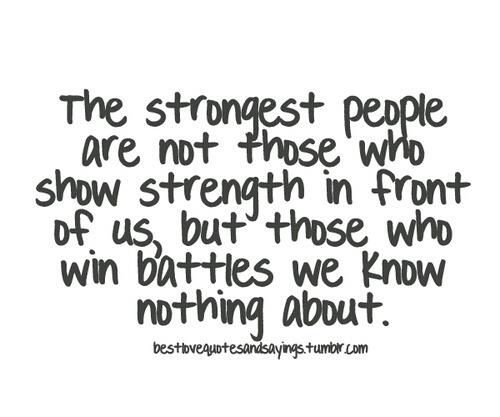 Multiple Sclerosis ....the strongest people are....