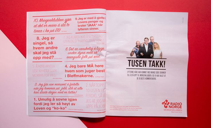 Radion Norge Advertising / Breakfast.no