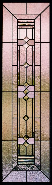 Frank Lloyd Wright Stained Glass Sidelights