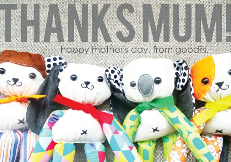 Happy Mother's Day to all the lovely Mums out there! Maria x   www.goodiis.com