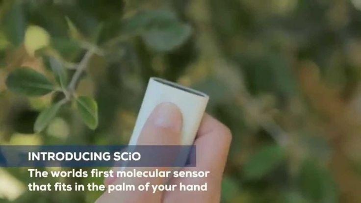 SCIO  Pocket Molecular Sensor l SCAN food, medicine, plants for INSTANT CONTENT LIST ON PHONE APP!!!