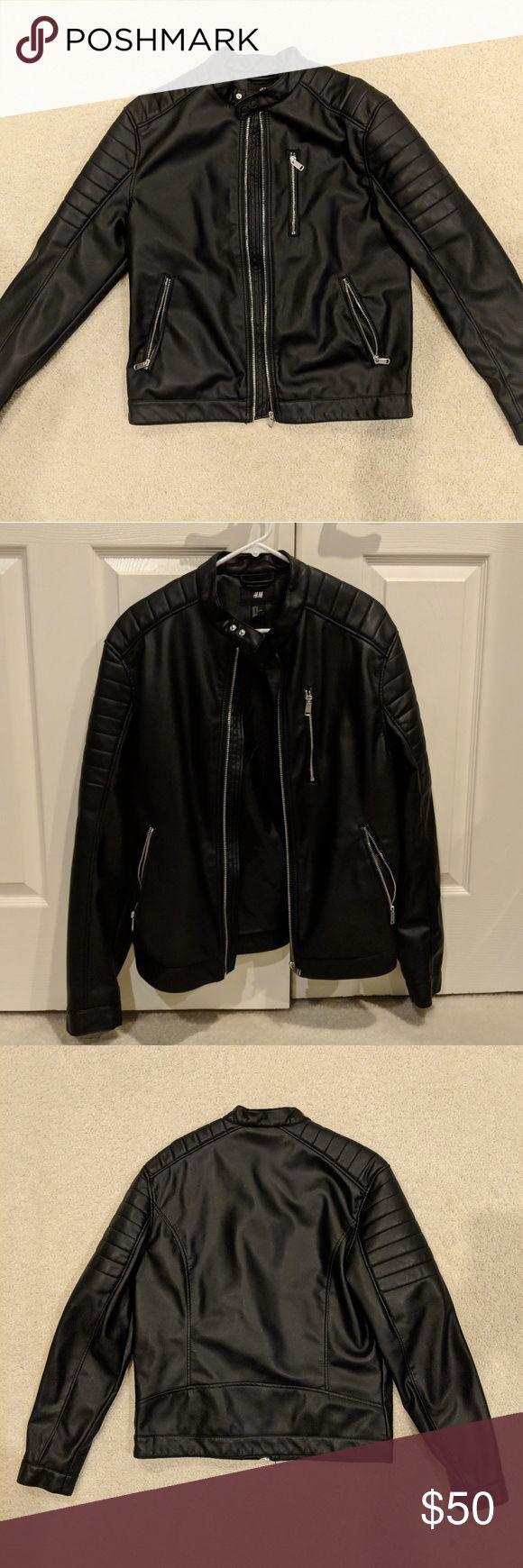 H&M leather jacket Brand New. Never Worn. Medium men's