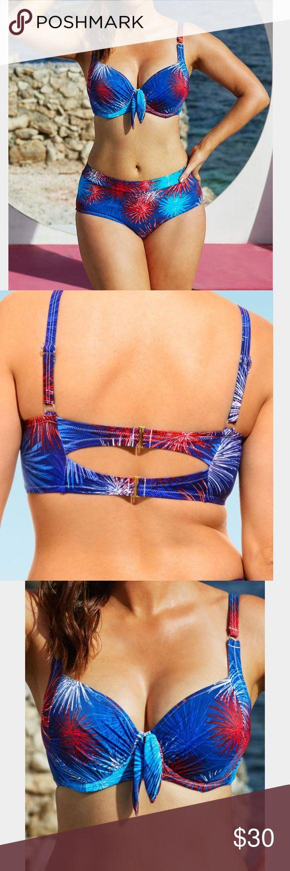 Beyond the rack swim top So freakin cute !! Underwire beyond the rack Swim Bikinis