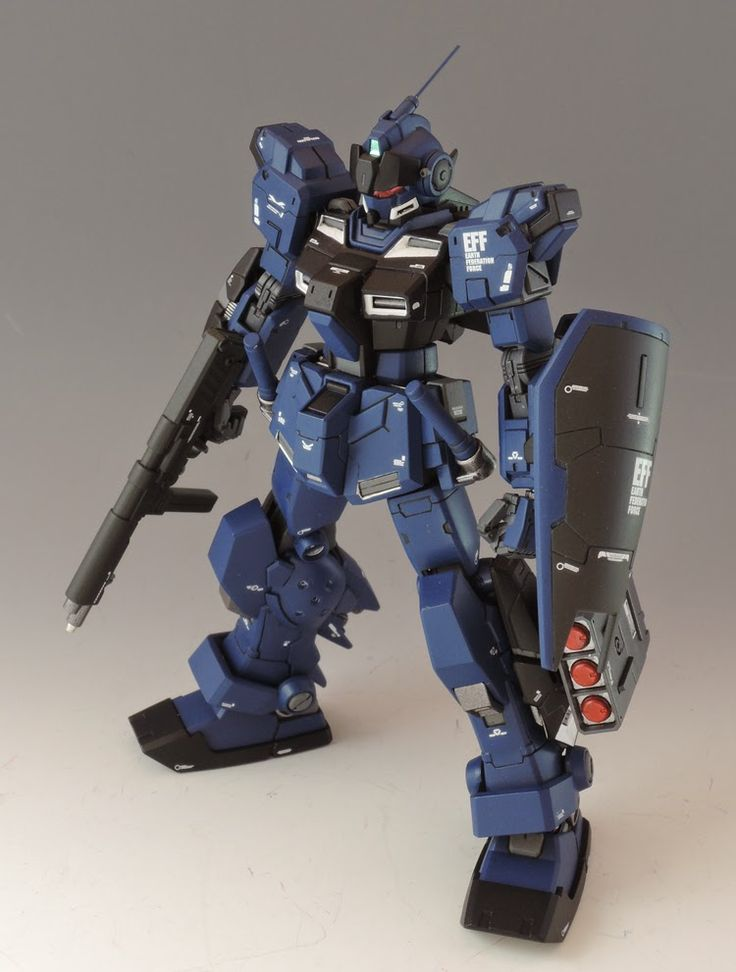GUNDAM GUY: HG 1/144 RX-80PR Pale Rider - Customized Build