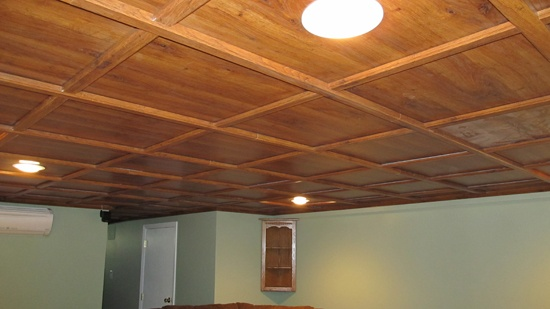 18 best images about basement on pinterest entry ways for Basement wood ceiling