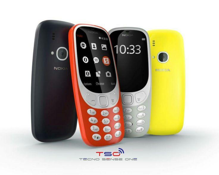 """El Nokia 3310   ya se encuentra a la venta         Estamos ante la evolución del celular mejor conocido como el """"Teléfono mas resistente d..."""