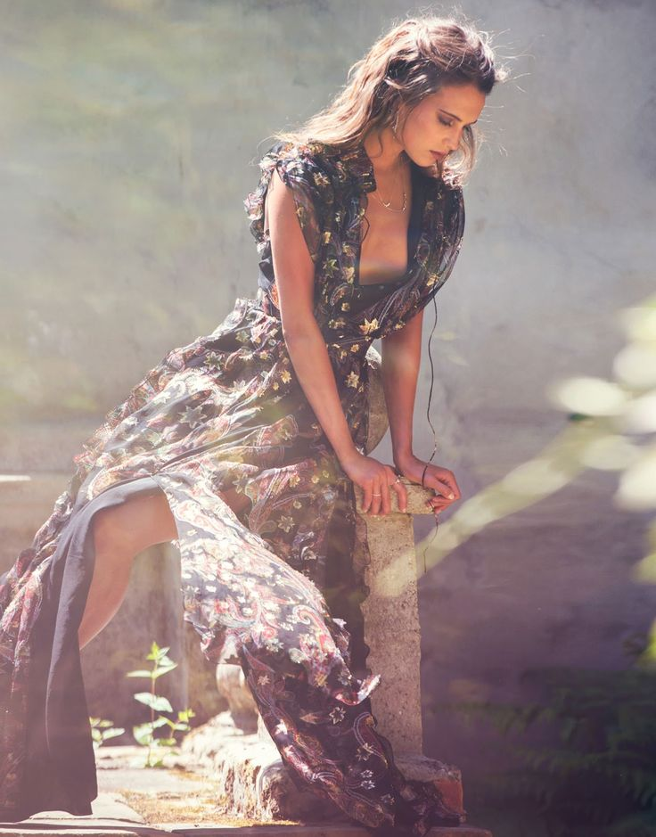 Alicia Vikander by David Bellemere for The Edit Magazine July 2015