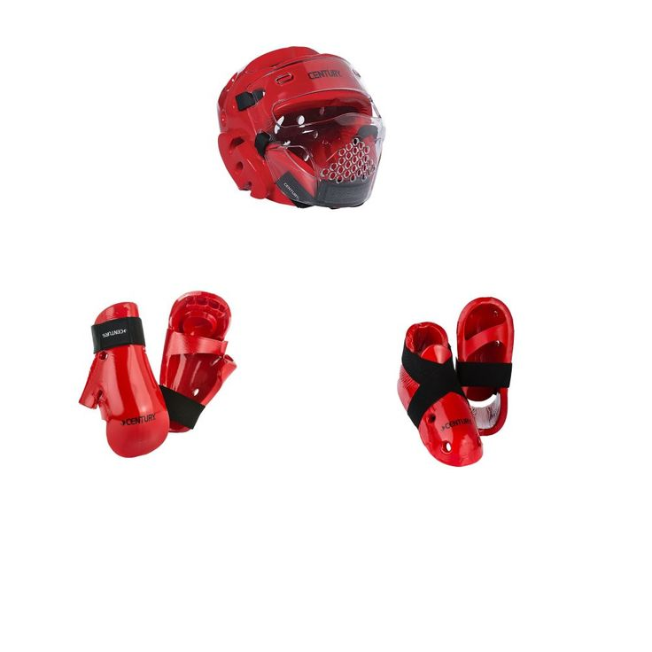 Century Karate Sparring Gear Combo Set with face shield