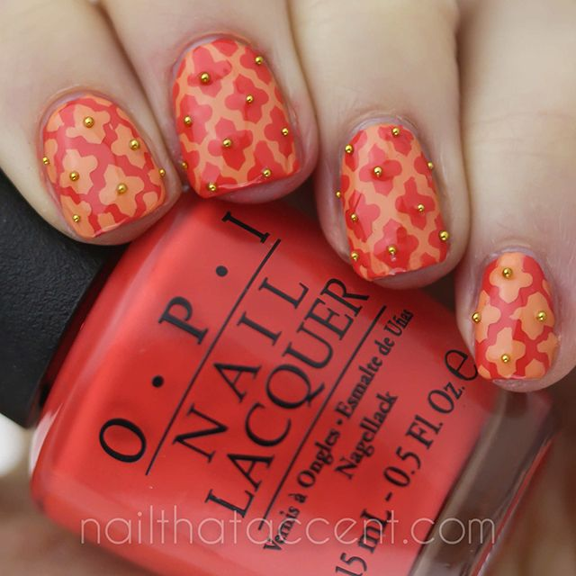 Morocco inspired nails