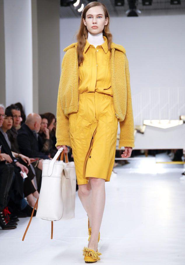 54ef86507d TOD'S Winter 2019 - MILAN   Clothes   Fashion, Yellow fashion ...