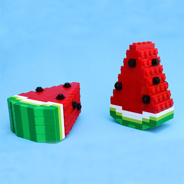 Made Us Look: This LEGO Food Looks Good Enough to Eat