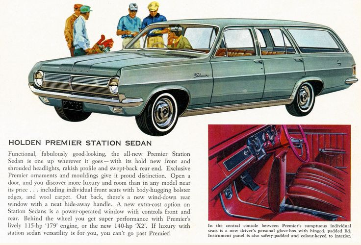 1965 Holden Premier Station Wagon