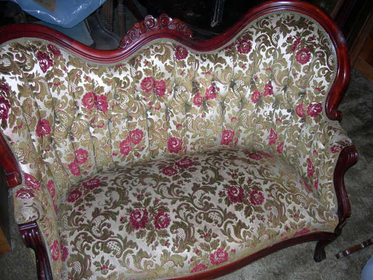 Matching pair kimball carved floral design reproduction victorian  loveseats. Victorian FurnitureAntique ... - 21 Best Kimball Victorian Furniture Images On Pinterest Marbles