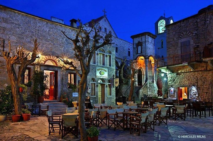 At the Medieval village of Mesta, Chios