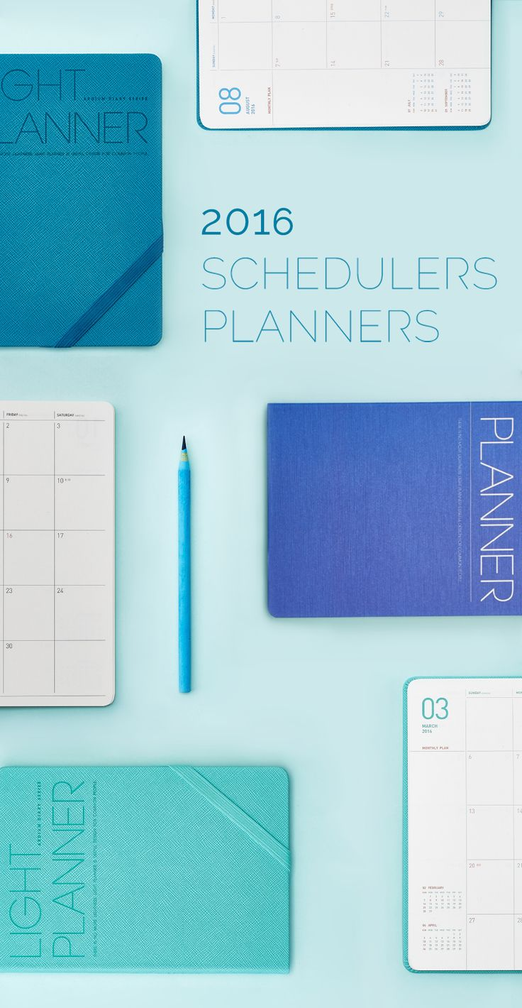 Browse all 2016 Schedulers and Planners!