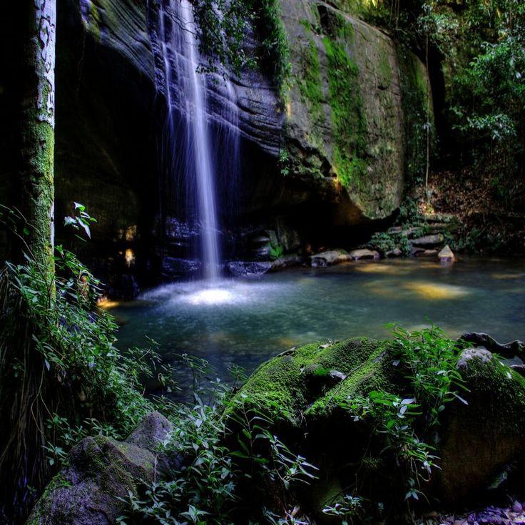 Buderim Falls, Sunshine Coast - Waterfalls in South East Queensland.