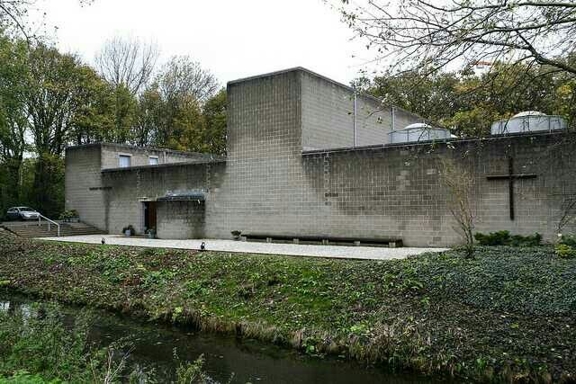the Roman Catholic Church, 1964-69,  Hague, Aldo van Eyck