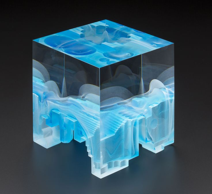 STEVEN WEINBERG   Cast Glass Sculpture by Steven Weinberg at - Schantz Galleries
