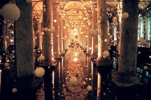 Yerebatan Sarai - cistern beneath Istanbul, Turkey