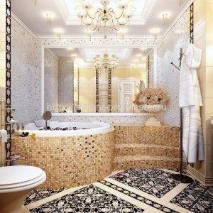дизайн ванной комнаты 39
