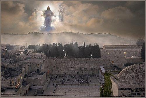When His feet STAND on the Mt of Olives ...different than the rapture in which we meet Him in the clouds!❤️