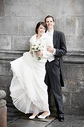 Ett nytt brudpar på Nygifta.nu. Från Skara.  Flera brudpar och mera inför ditt bröllop hittar du på www.nygifta.se