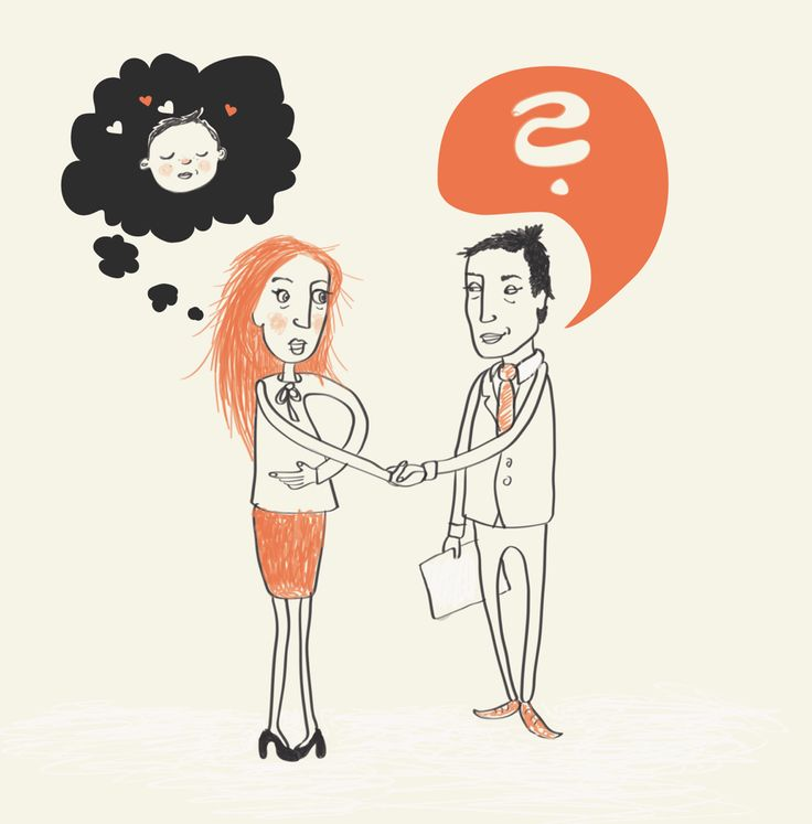 Editorial illustration, #magazine #illustration #vibekehoie #job #babies #drawing #orange