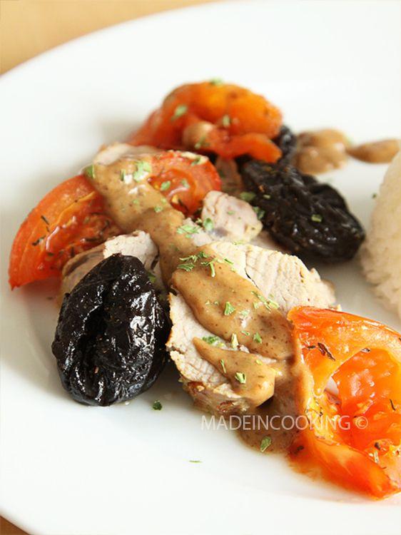 Filet mignon aux pruneaux d'Agen sauce crémeuse