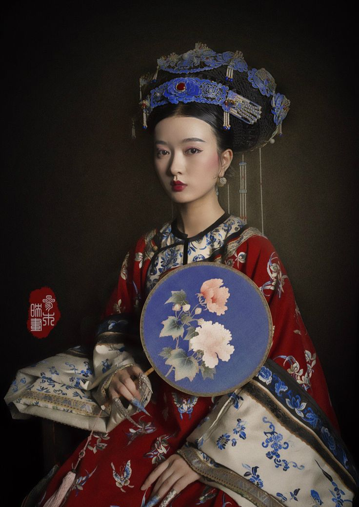 "changan-moon: "" Qing dynasty fashion by 叁木映画ForestStudio """