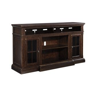 Shop For Signature Design By Ashley Roddinton Brown Tv Fireplace Stand Get Free Shipping