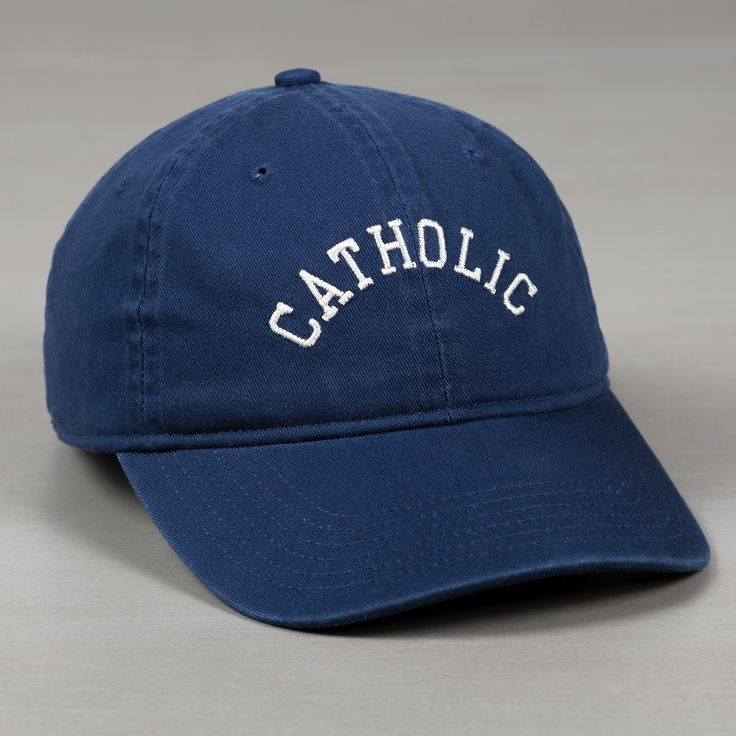 Collegiate Catholic Ball Cap | The Catholic Company