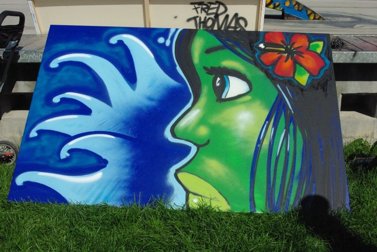 Aboriginal Day Live@the Forks 2012  Graffiti Art Programming Live mosaic mural, Hip hop Dancing and 4 spray painted canvasses.