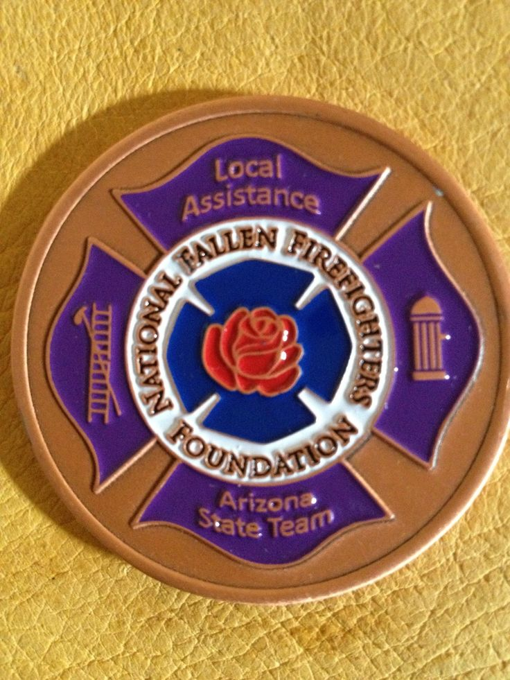 National Fallen Firefighters Foundation Challenge Coin